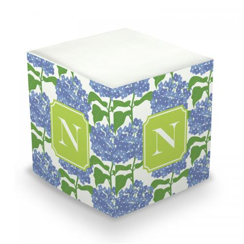 Personalized Sconset Blue Memo Cube  Office Supplies > General Supplies > Paper Products > Sticky Notes