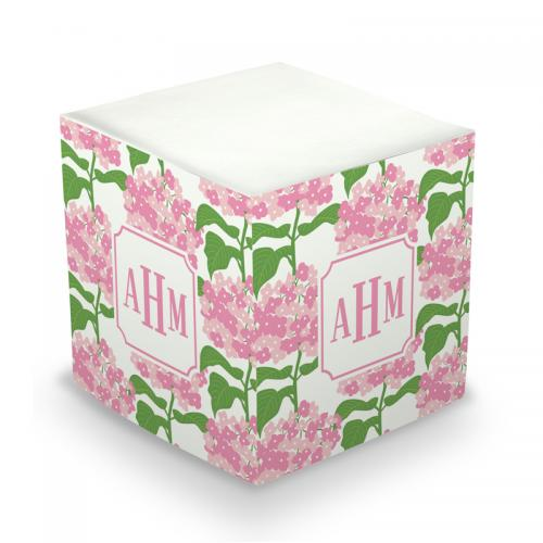 Personalized Sconset Pink Memo Cube  Office Supplies > General Supplies > Paper Products > Sticky Notes
