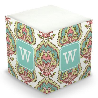 Personalized Cora Spring Memo Cube  Office Supplies > General Supplies > Paper Products > Sticky Notes
