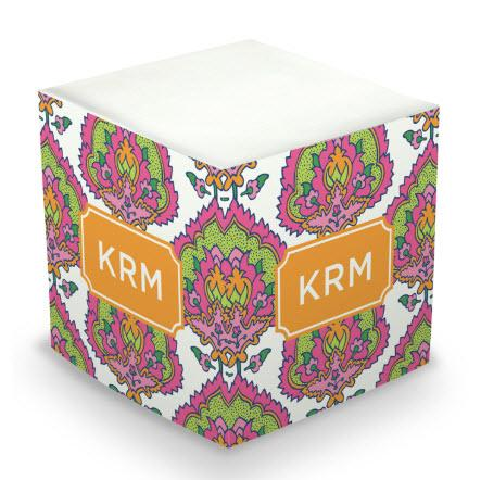 Personalized Cora Summer Memo Cube  Office Supplies > General Supplies > Paper Products > Sticky Notes