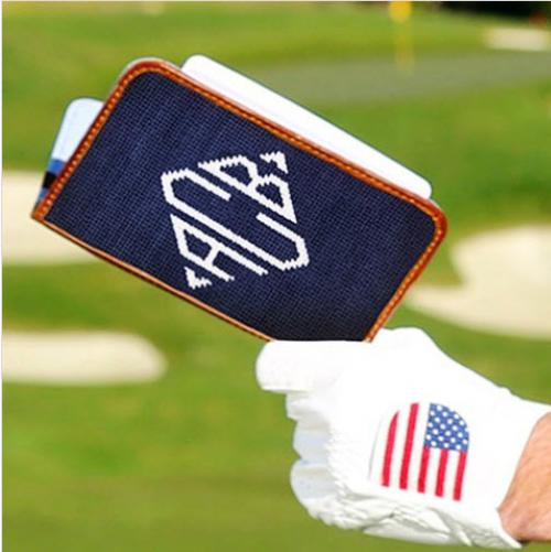 Smathers and Branson Monogrammed Golf Scorecard Holder  Sporting Goods > Outdoor Recreation > Golf