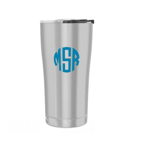 Personalized 20oz Stainless Steel Tumbler with Lid  Home & Garden > Kitchen & Dining > Tableware > Drinkware > Tumblers