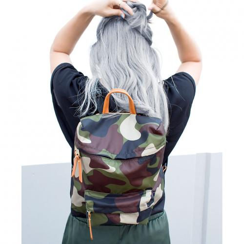 Boulevard Hailey Backpack in Camo  Luggage & Bags > Backpacks