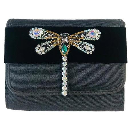 Lisi Lerch Eleanor Rhinestone Dragonfly Clutch Lisi Lerch Eleanor Rhinestone Dragonfly Clutch Apparel & Accessories > Handbags > Clutches & Special Occasion Bags