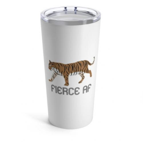 Clairebella Fierce Large Tumbler Clairebella Fierce Large Tumbler Home & Garden > Kitchen & Dining > Tableware > Drinkware > Tumblers