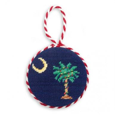 Christmas SC Needlepoint Ornament Christmas SC Needlepoint Ornament Home & Garden > Decor > Seasonal & Holiday Decorations > Holiday Ornaments