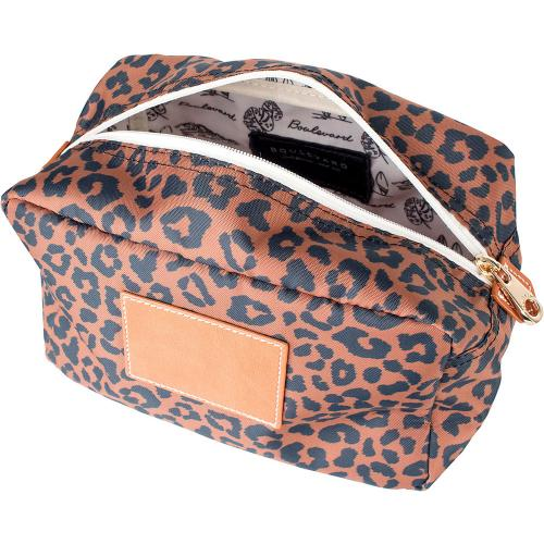 Boulevard Large Leopard Utility Pouch Monogrammed  Luggage & Bags > Luggage Accessories > Travel Pouches