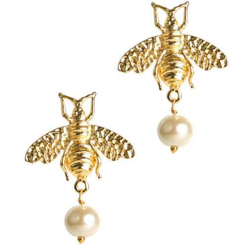 Lisi Lerch Bee Pearl Drop Earring Lisi Lerch Bee Pearl Drop Earring Apparel & Accessories > Jewelry > Earrings