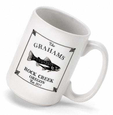 Personalized Coffee Mug Cabin Series   Home & Garden > Kitchen & Dining > Tableware > Drinkware > Mugs