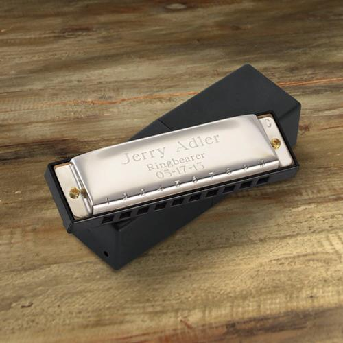 Personalized Harmonica Stainless Steel  Engraved Harmonica Stainless Steel  Arts & Entertainment > Party & Celebration > Party Supplies > Noisemakers & Party Blowers