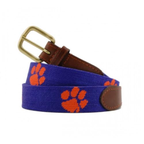 Smathers and Branson Clemson University Needlepoint Belt   Apparel & Accessories > Clothing Accessories > Belts