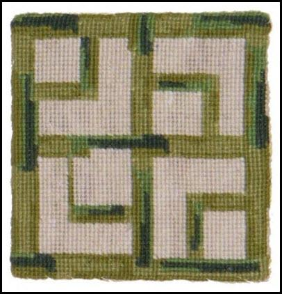Set of Four Bamboo Needlepoint Coasters Bamboo Coaster Home & Garden > Kitchen & Dining > Tableware > Trivets