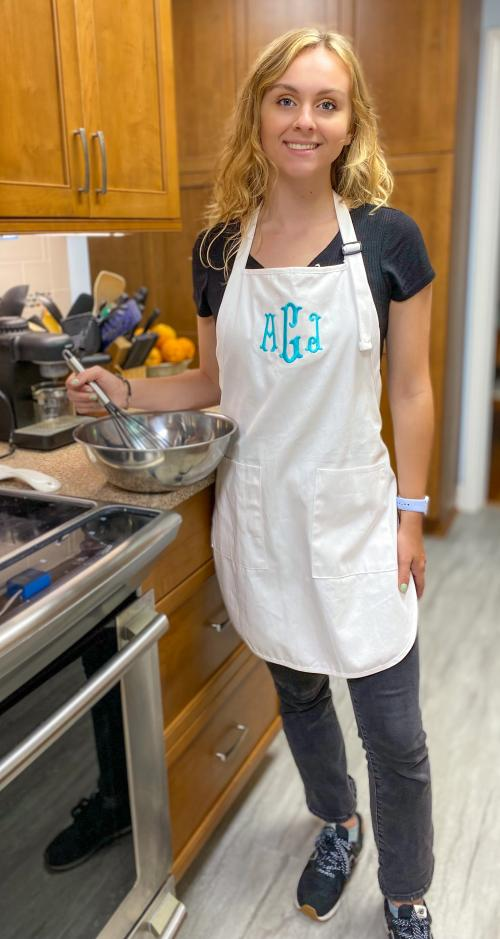 Monogrammed Chef's Apron  Apparel & Accessories > Clothing Accessories > Aprons