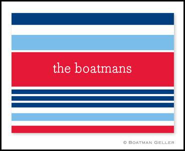Boatman Geller Nautical Personalized Notes  Office Supplies > General Supplies > Paper Products > Stationery