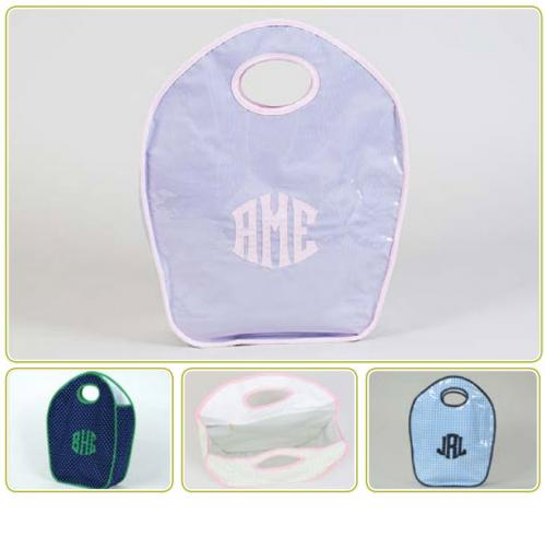 Monogrammed Talley Ho Designs Keyhole Diaper Tote  Luggage & Bags > Diaper Bags