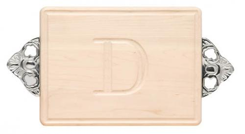 "Personalized Cutting Board 9x12"" Maple with Scalloped Handles  Home & Garden > Kitchen & Dining > Kitchen Tools & Utensils > Cutting Boards"