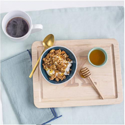 Breakfast in Bed Personalized Maple Wood Cutting Board   Home & Garden > Kitchen & Dining > Kitchen Tools & Utensils > Cutting Boards