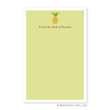 Boatman Geller Personalized Pineapple Notepads  Office Supplies > General Supplies > Paper Products > Notebooks & Notepads