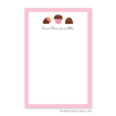 Boatman Geller Personalized Sweets Notepad  Office Supplies > General Supplies > Paper Products > Notebooks & Notepads