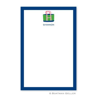 Boatman Geller Personalized Tote Notepad  Office Supplies > General Supplies > Paper Products > Notebooks & Notepads