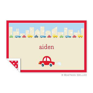 Boatman Geller Personalized Cars Placemat  Home & Garden > Linens & Bedding > Table Linens > Placemats