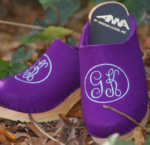 Aqua Empire 2-Letter on Lilac Wool Upper aqua Empire 2-letter on Lilac upper