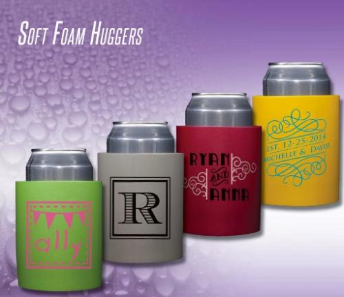 Personalized Soft Foam Koozies  Home & Garden > Kitchen & Dining > Food & Beverage Carriers > Drink Sleeves > Can & Bottle Sleeves