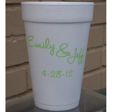 Personalized 16oz Foam Cups  Home & Garden > Kitchen & Dining > Tableware > Drinkware