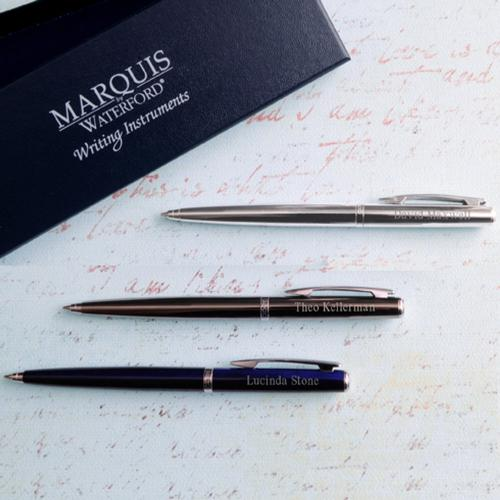 Monogrammed Ballpoint Pen Waterford Arcadia for Him or Her  Office Supplies > Office Instruments > Writing & Drawing Instruments > Pens & Pencils > Pen & Pencil Sets