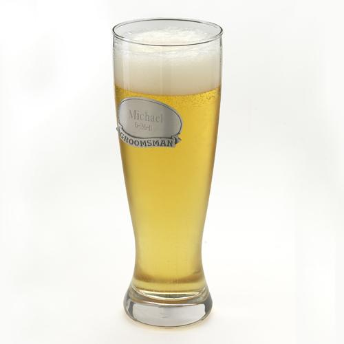 Personalized Grand Pilsner Glass  Home & Garden > Kitchen & Dining > Tableware > Drinkware > Pint Glasses