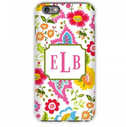 Personalized iPhone Case Bright Floral   Electronics > Communications > Telephony > Mobile Phone Accessories > Mobile Phone Cases
