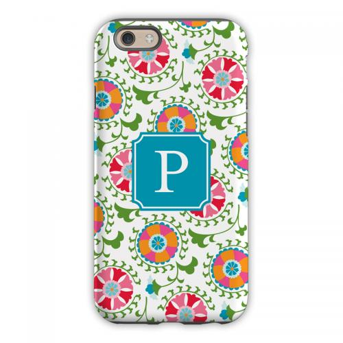 Personalized iPhone Case Suzani Pattern  Electronics > Communications > Telephony > Mobile Phone Accessories > Mobile Phone Cases