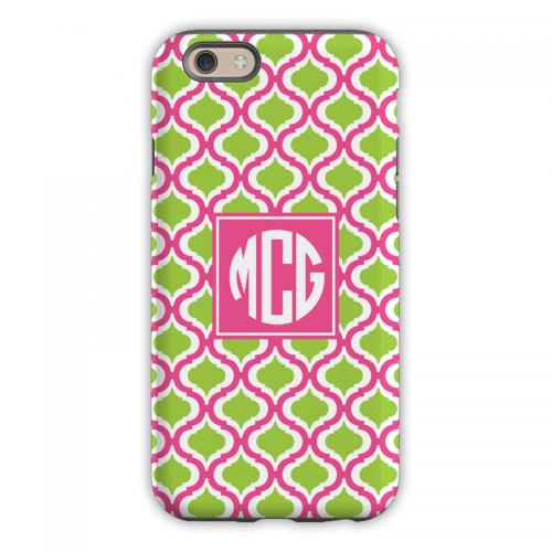 Personalized iPhone Case Raspberry & Lime   Electronics > Communications > Telephony > Mobile Phone Accessories > Mobile Phone Cases