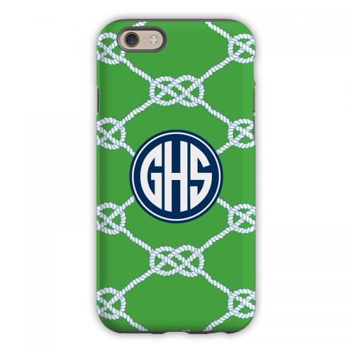 Personalized iPhone Case Nautical Knot   Electronics > Communications > Telephony > Mobile Phone Accessories > Mobile Phone Cases