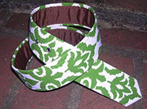 Loopty Loo Ikat Fabric Belt  Apparel & Accessories > Clothing Accessories > Belts