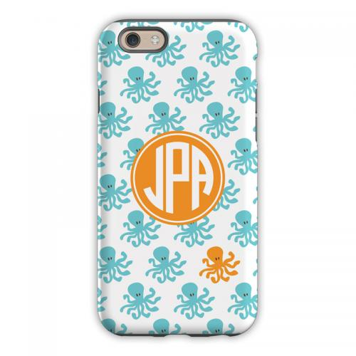 Personalized iPhone Case Octopus Repeat   Electronics > Communications > Telephony > Mobile Phone Accessories > Mobile Phone Cases