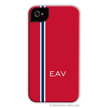 Personalized iPhone Case Racing Stripe    Electronics > Communications > Telephony > Mobile Phone Accessories > Mobile Phone Cases