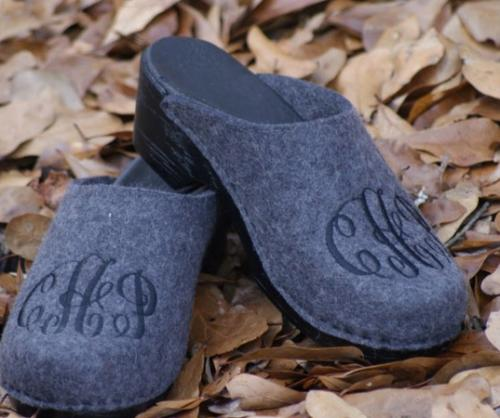Monogrammed Clogs Design Your Own Pair  Monogram Apparel & Accessories > Shoes > Clogs & Mules
