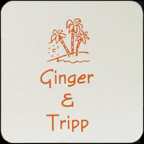 Personalized 4 Inch Square Pulpboard Coasters  Home & Garden > Kitchen & Dining > Barware > Coasters