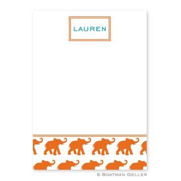 Boatman Geller Personalized Elephants Flat Cards  Office Supplies > General Supplies > Paper Products > Stationery