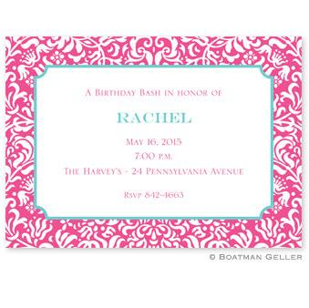 Boatman Geller Personalized Chloe Invitation  Office Supplies > General Supplies > Paper Products > Stationery
