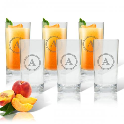 Carved Solutions Personalized Glass Cooler Set of 6  Home & Garden > Kitchen & Dining > Barware