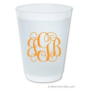 Boatman Geller Monogrammed 16oz. Frosted Cups  Home & Garden > Kitchen & Dining > Tableware > Drinkware