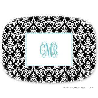 PersonaLized Madison Damask Platter from Boatman Geller  Home & Garden > Kitchen & Dining > Tableware > Serveware > Serving Platters