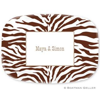 Personalized Zebra Platter Design Your Own  Home & Garden > Kitchen & Dining > Tableware > Serveware > Serving Platters
