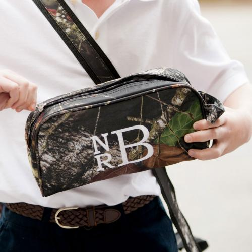 Monogrammed Woods Camo Pencil or Toiletry Bag  Luggage & Bags > Toiletry Bags