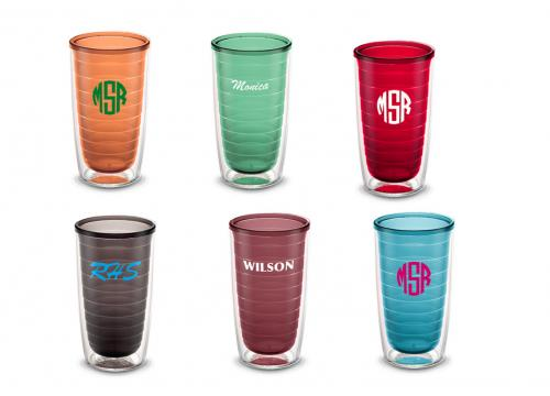 Personalized Tervis 16oz. Colorful Tumbler  Home & Garden > Kitchen & Dining > Barware