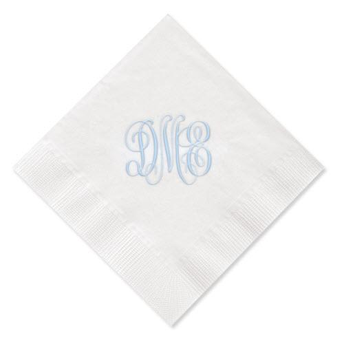 Tint Monogram Napkins  Home & Garden > Kitchen & Dining