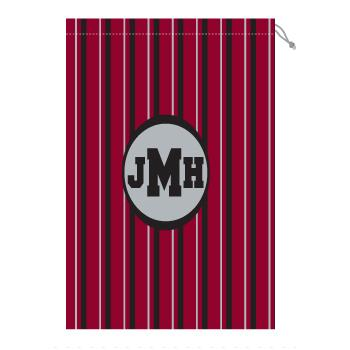 Monogram Gamecock Laundry Bag in Garnet and Black Laundry Bag Garnet and Black Home & Garden > Household Supplies > Laundry Supplies > Washing Bags & Baskets