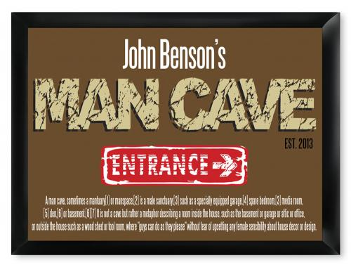 Personalized Pub Sign Man Cave Defined  Personalized Pub Sign Man Cave Defined  Home & Garden > Decor > Plaques